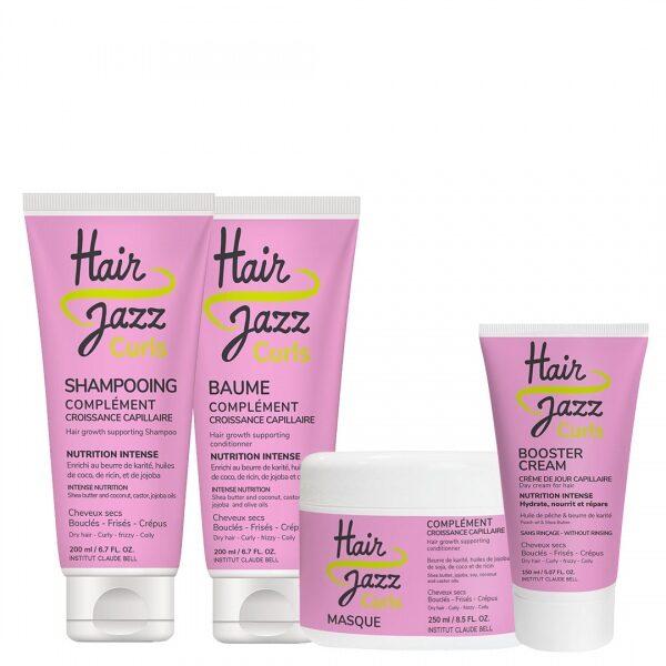 HAIR JAZZ GARBANOMS - pilna plaukų priežiūros rutina