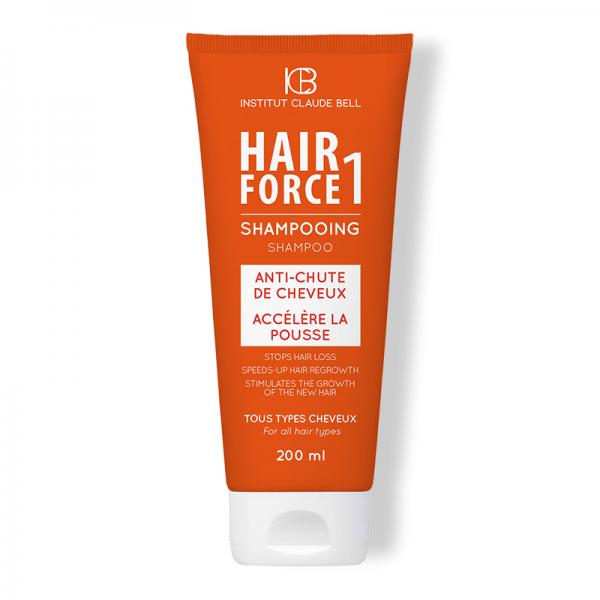 HAIR FORCE ONE šampūnas turintiems plaukų slinkimo problemą. Su Baobabo vaisių ekstraktu