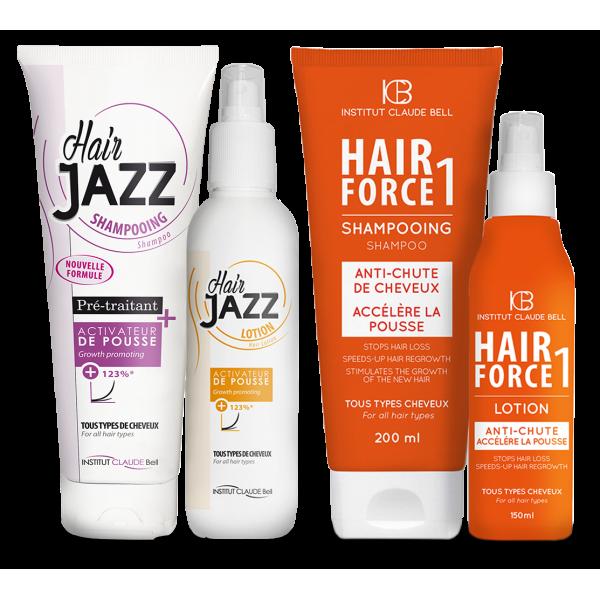 HAIR JAZZ + HAIR FORCE rinkinys